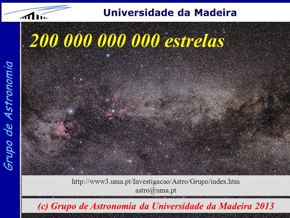 (c) Grupo de Astronomia da Universidade da Madeira 2013