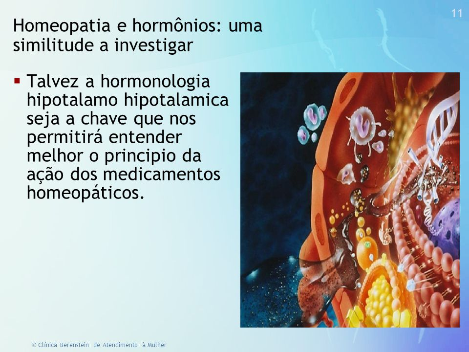 Homeopatia e hormônios: uma similitude a investigar