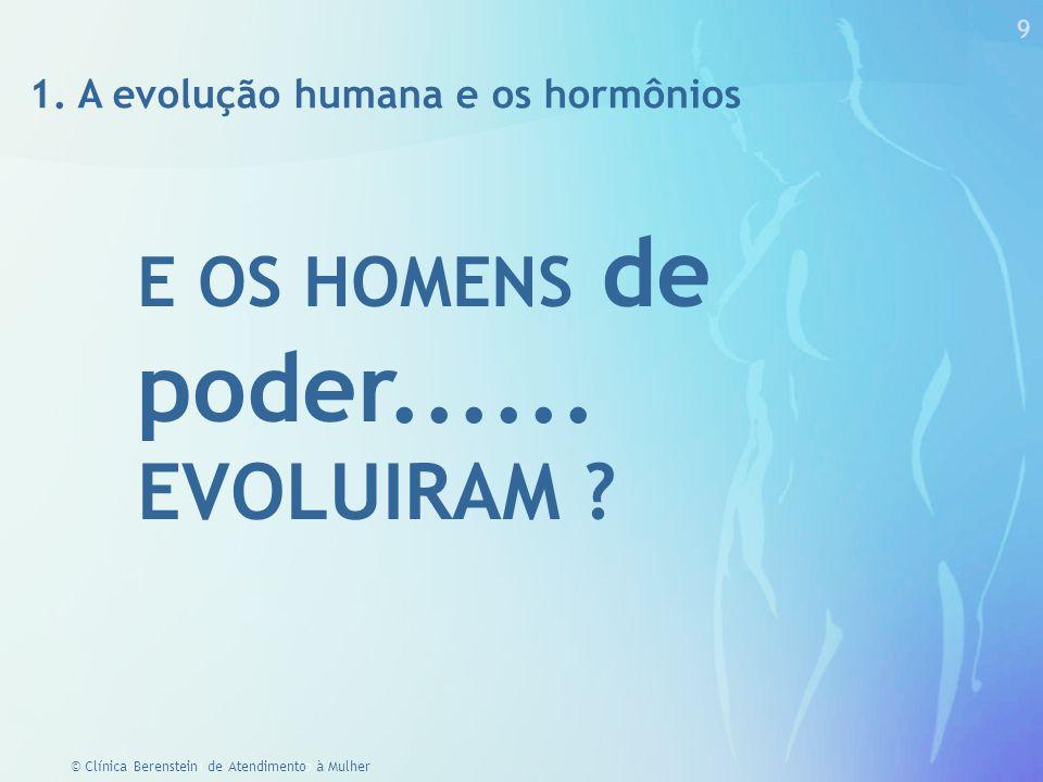 EVOLUIRAM E OS HOMENS de poder......