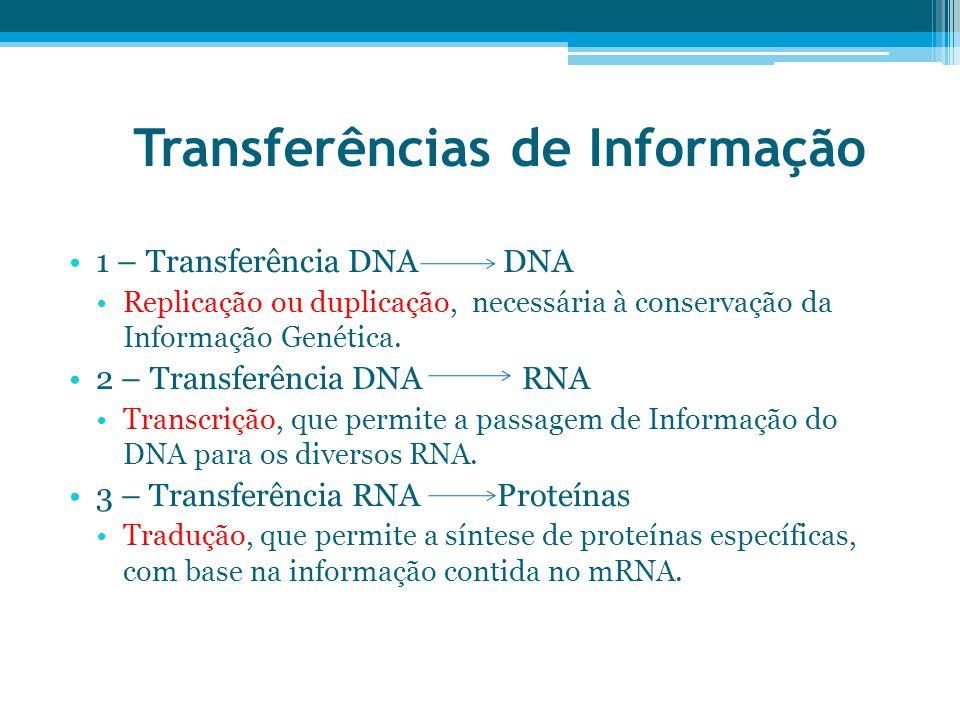 Transferências de Informação