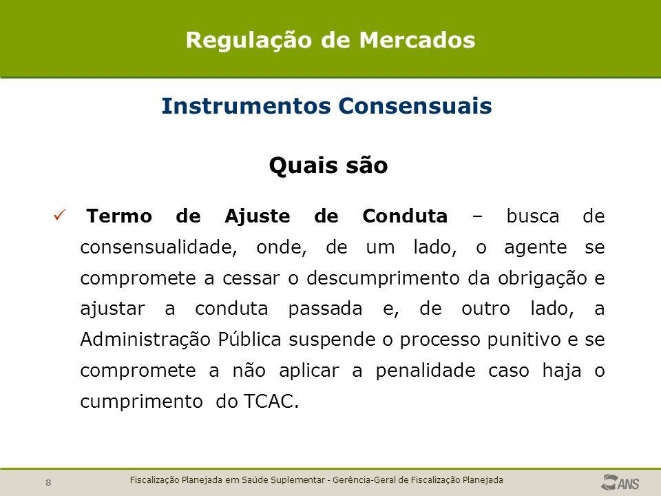 Instrumentos Consensuais