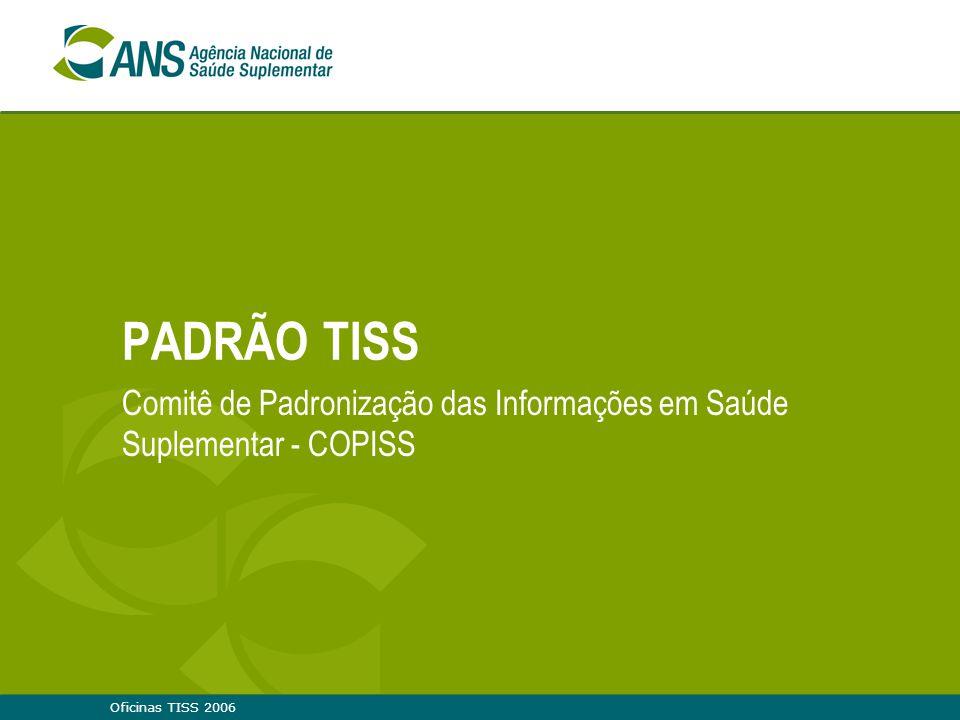 Comitê de Padronização das Informações em Saúde Suplementar - COPISS