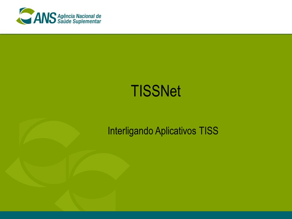 Interligando Aplicativos TISS
