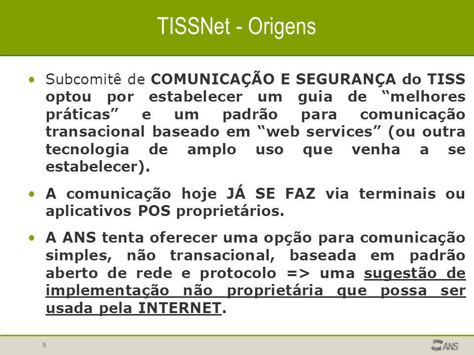 TISSNet - Origens