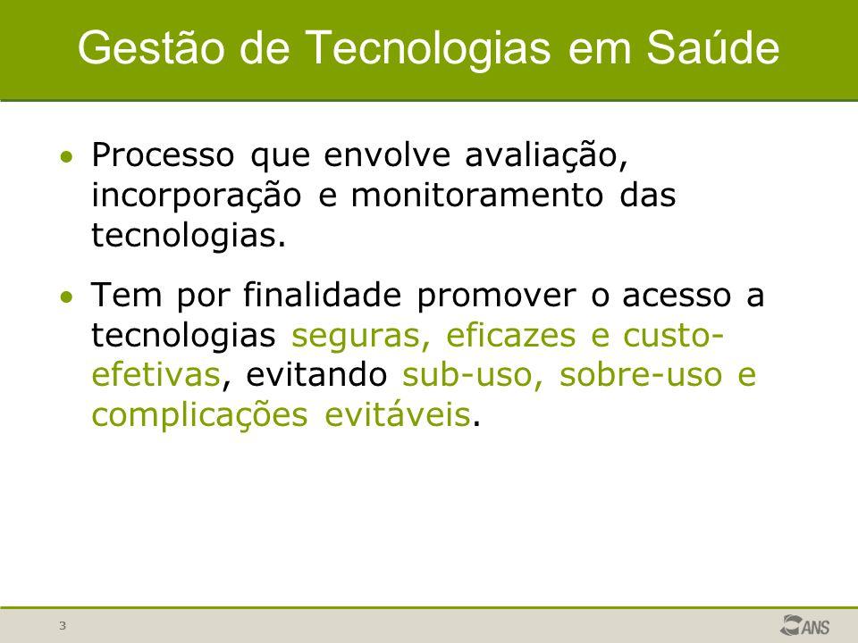 Gestão de Tecnologias em Saúde