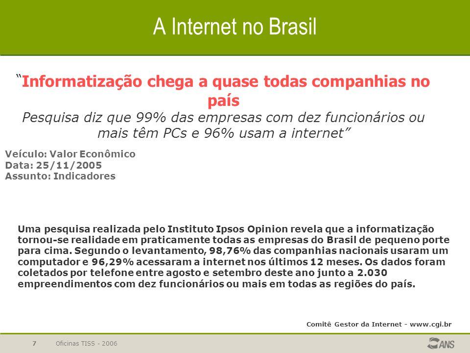 Comitê Gestor da Internet - www.cgi.br