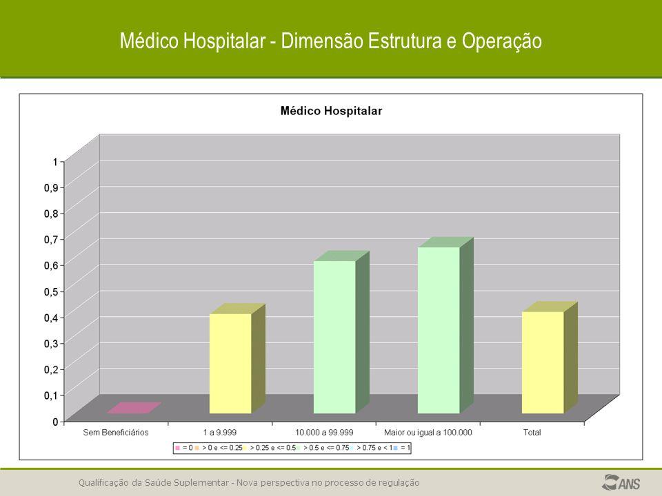 Médico Hospitalar - Dimensão Estrutura e Operação