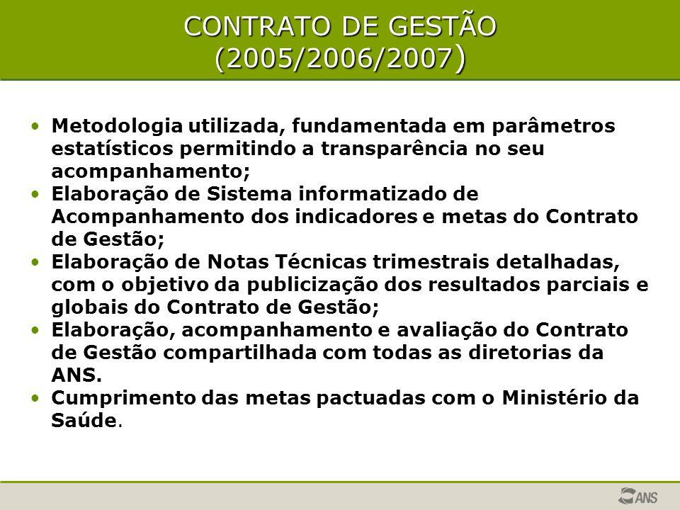 CONTRATO DE GESTÃO (2005/2006/2007)