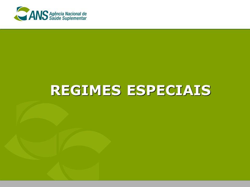 REGIMES ESPECIAIS
