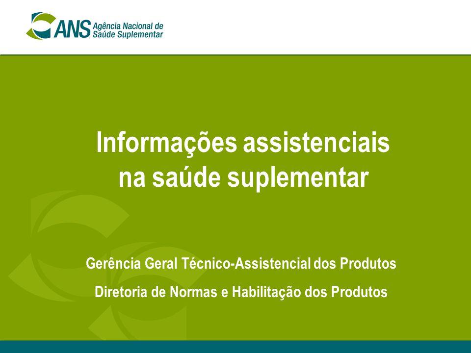 Informações assistenciais na saúde suplementar