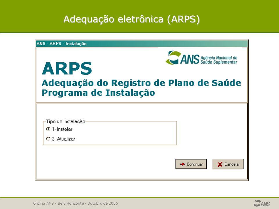 Adequação eletrônica (ARPS)