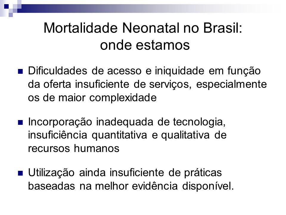 Mortalidade Neonatal no Brasil: onde estamos