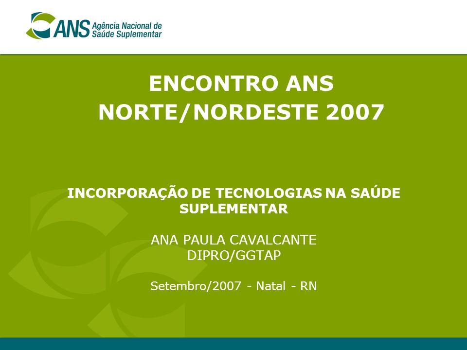 ENCONTRO ANS NORTE/NORDESTE 2007