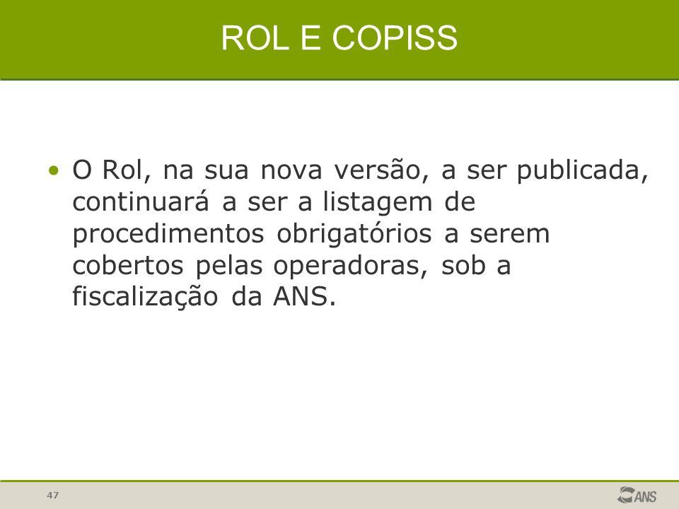 ROL E COPISS
