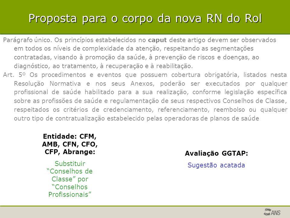 Entidade: CFM, AMB, CFN, CFO, CFP, Abrange: