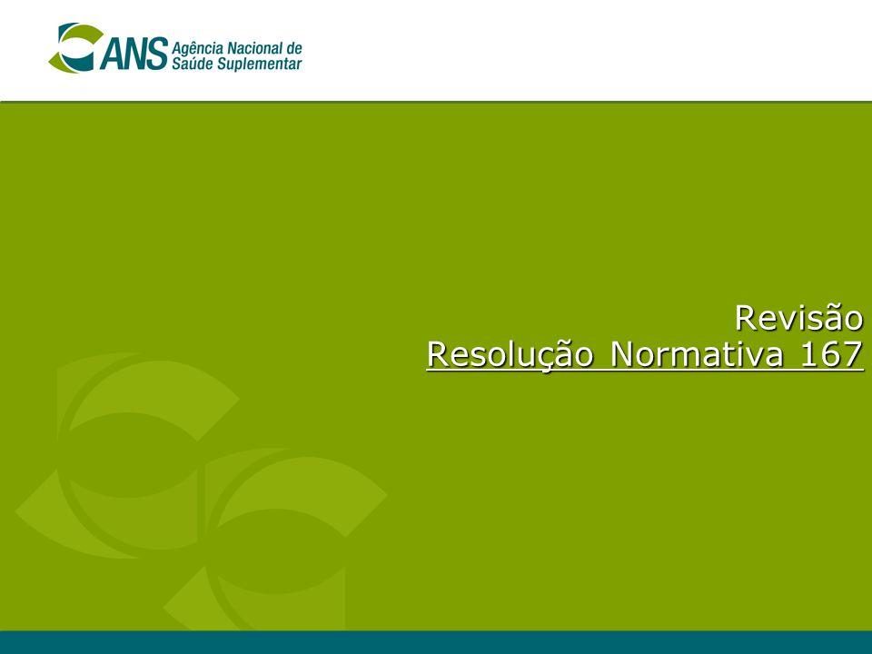 Revisão Resolução Normativa 167