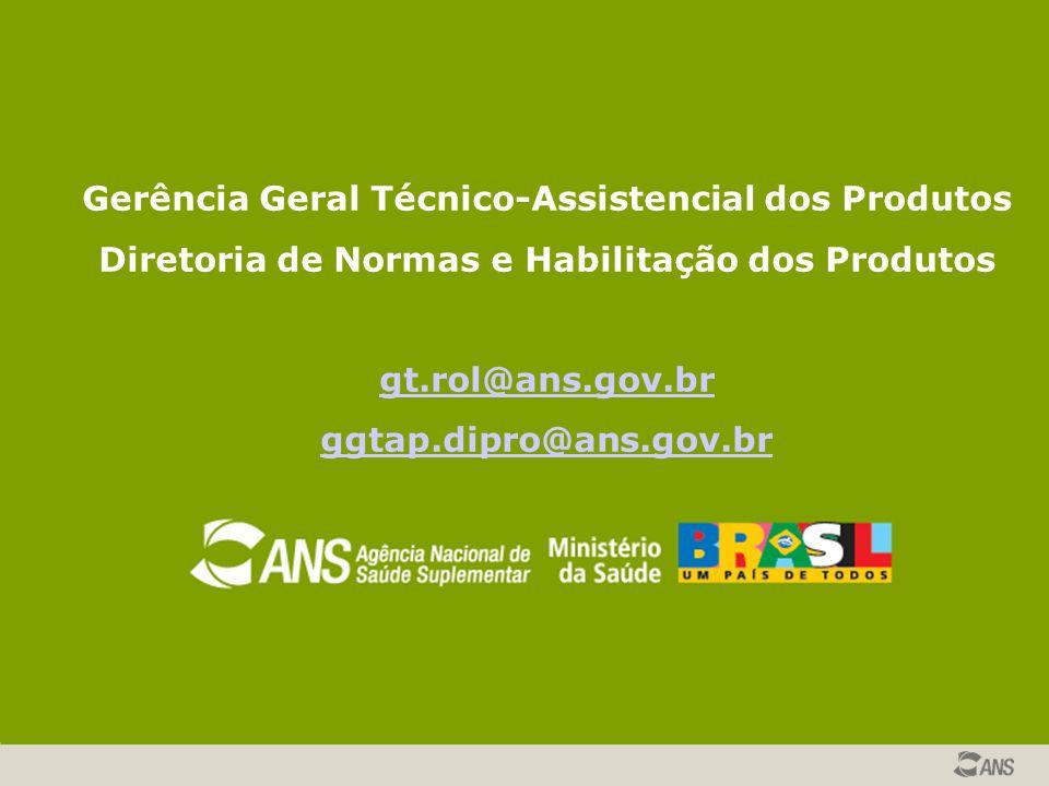 Gerência Geral Técnico-Assistencial dos Produtos