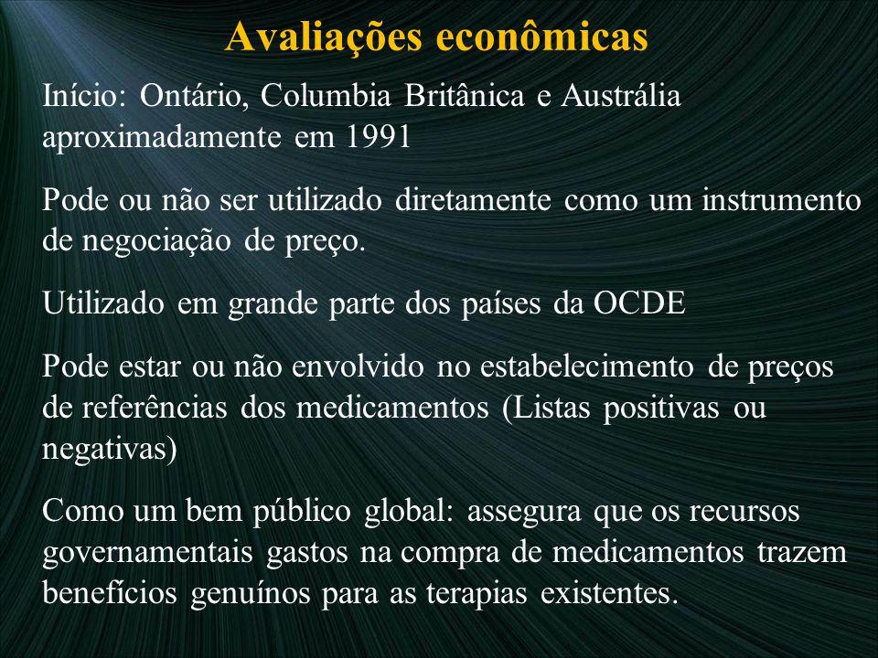 Avaliações econômicas