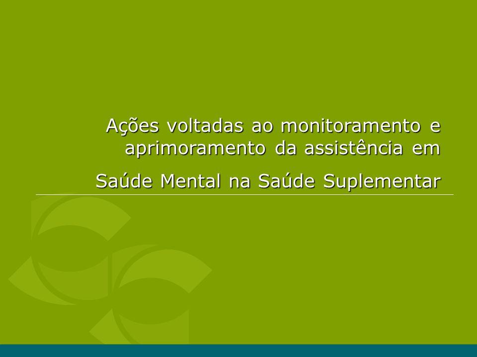 Ações voltadas ao monitoramento e aprimoramento da assistência em