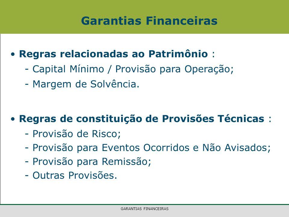 Garantias Financeiras