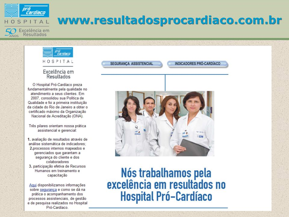 www.resultadosprocardiaco.com.br