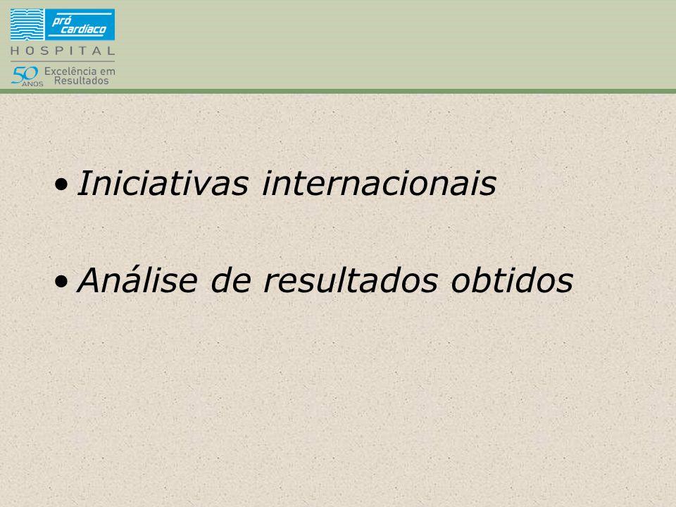 Iniciativas internacionais