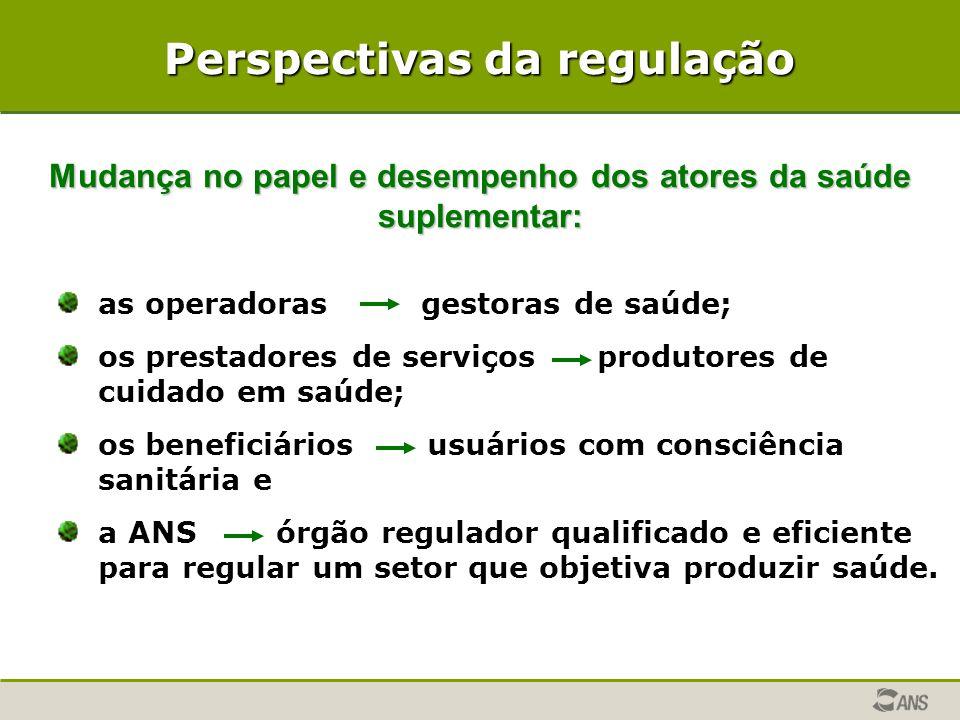 Perspectivas da regulação