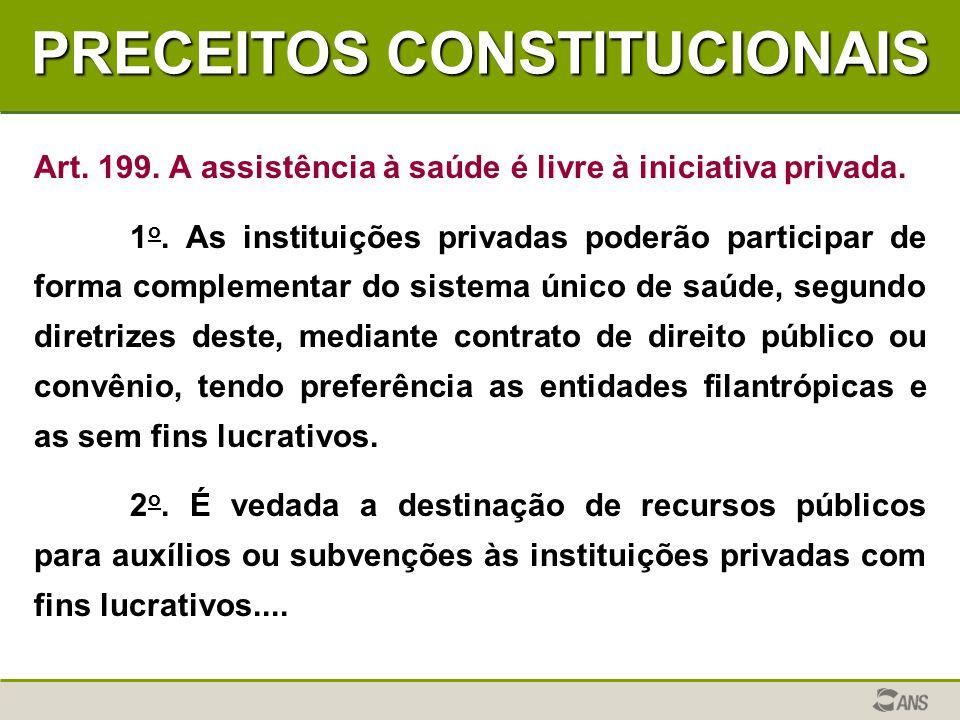 PRECEITOS CONSTITUCIONAIS