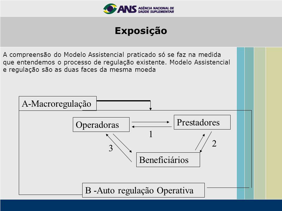 B -Auto regulação Operativa