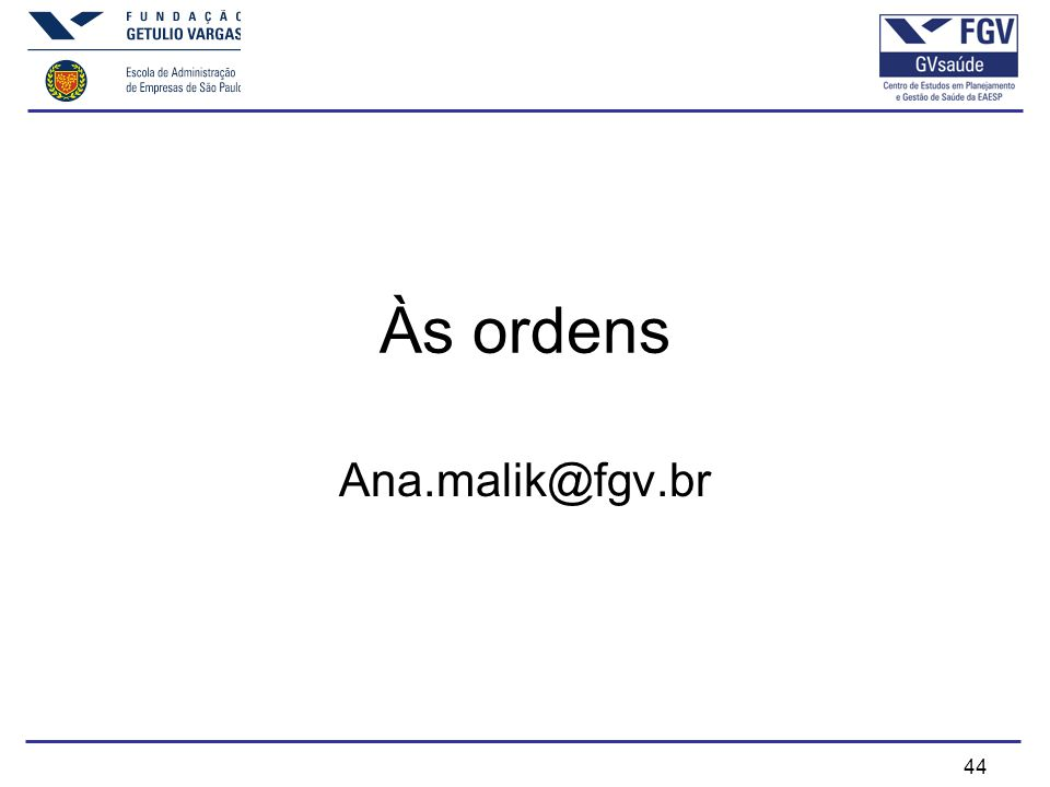 Às ordens Ana.malik@fgv.br