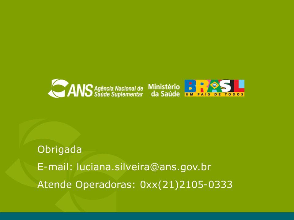 E-mail: luciana.silveira@ans.gov.br