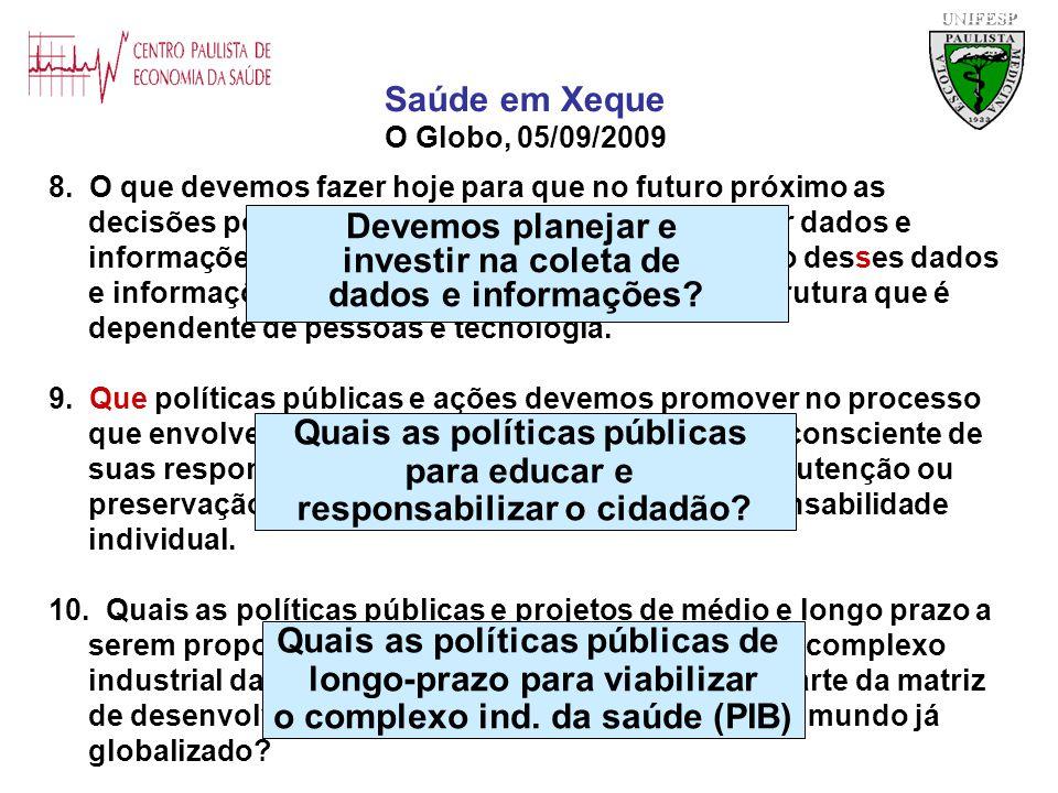 Quais as políticas públicas para educar e responsabilizar o cidadão