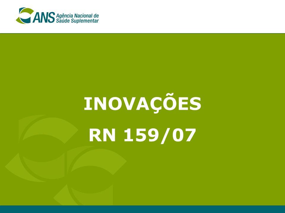 INOVAÇÕES RN 159/07