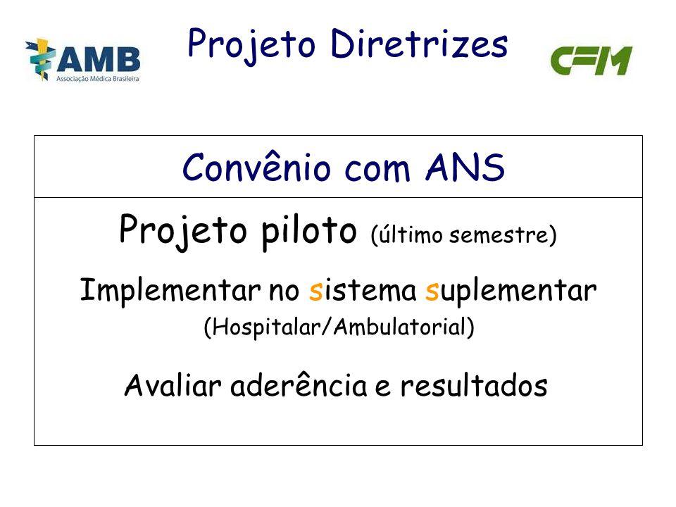 Projeto piloto (último semestre)