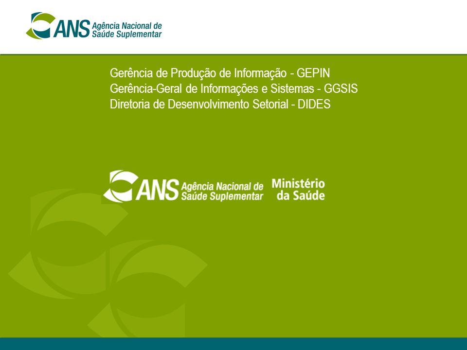 Gerência de Produção de Informação - GEPIN