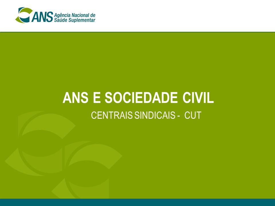 CENTRAIS SINDICAIS - CUT