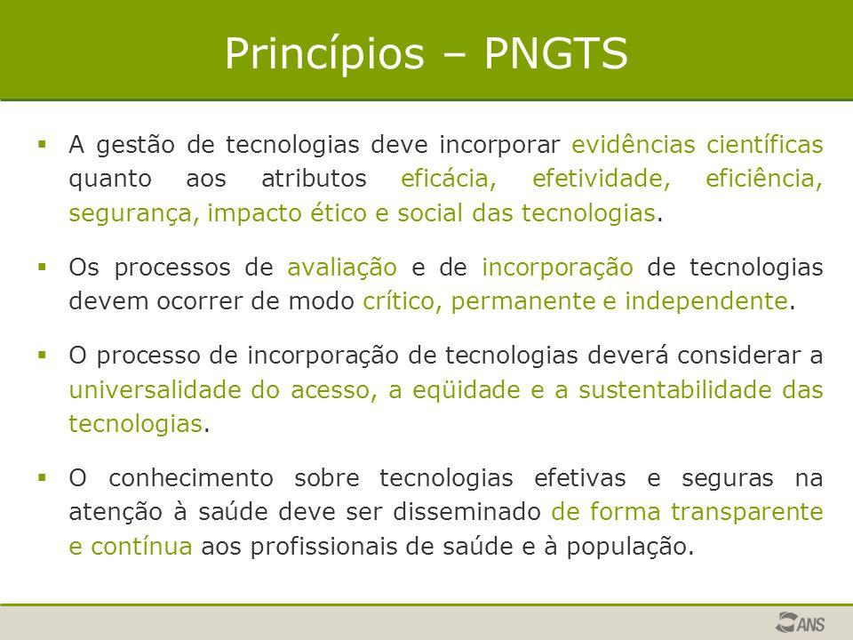Princípios – PNGTS