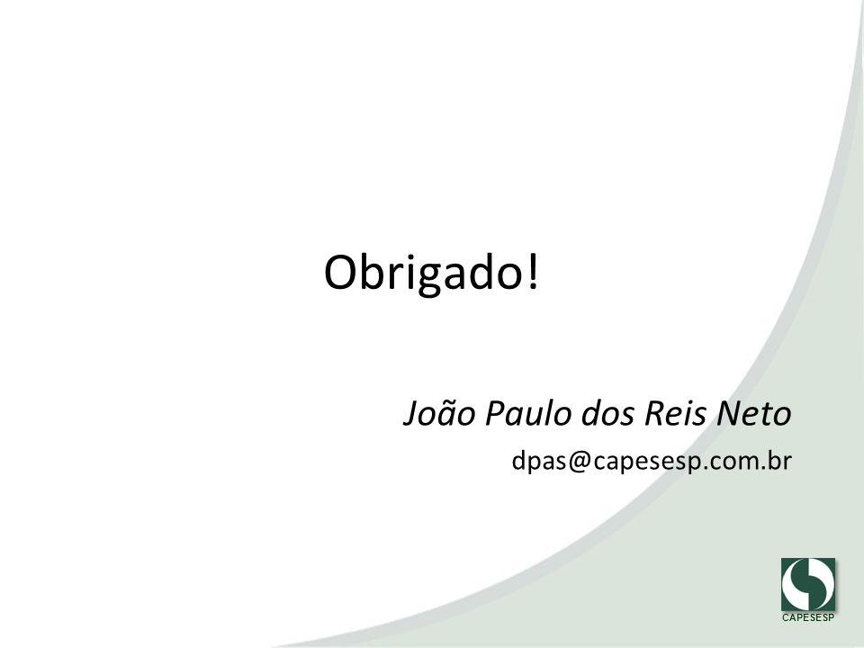 João Paulo dos Reis Neto dpas@capesesp.com.br