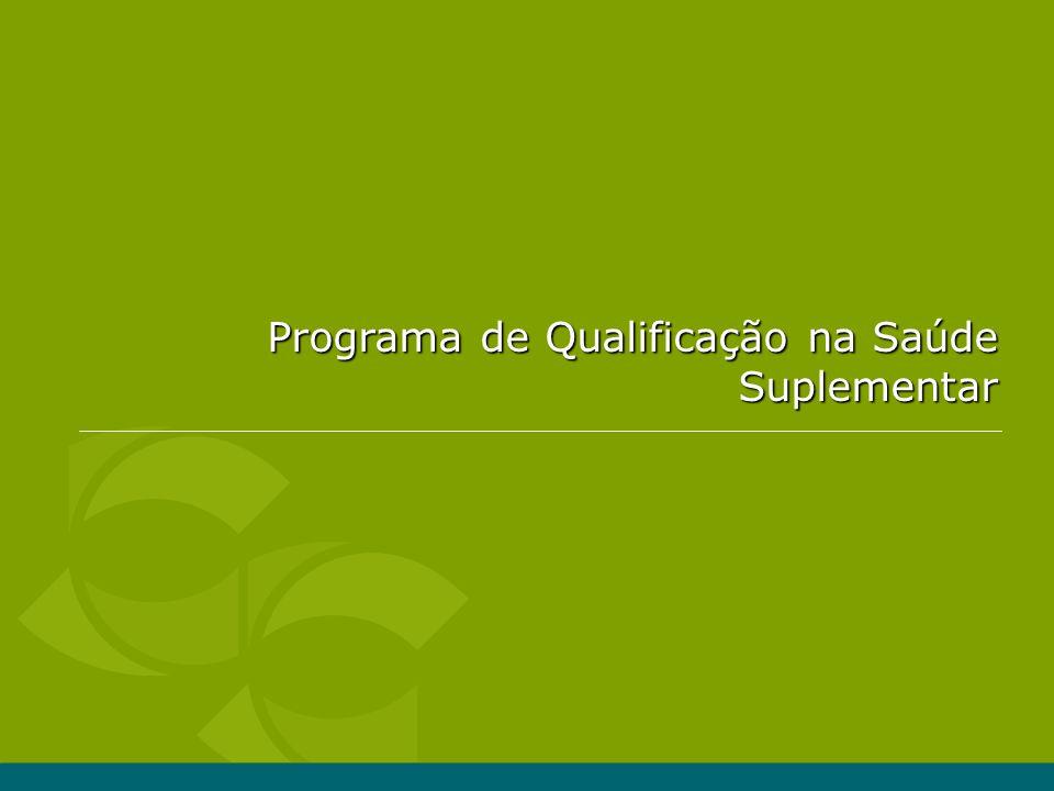 Programa de Qualificação na Saúde Suplementar