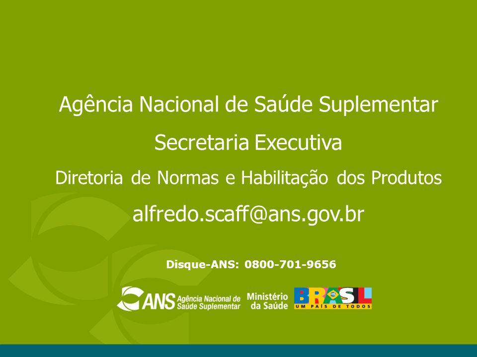 Agência Nacional de Saúde Suplementar Secretaria Executiva