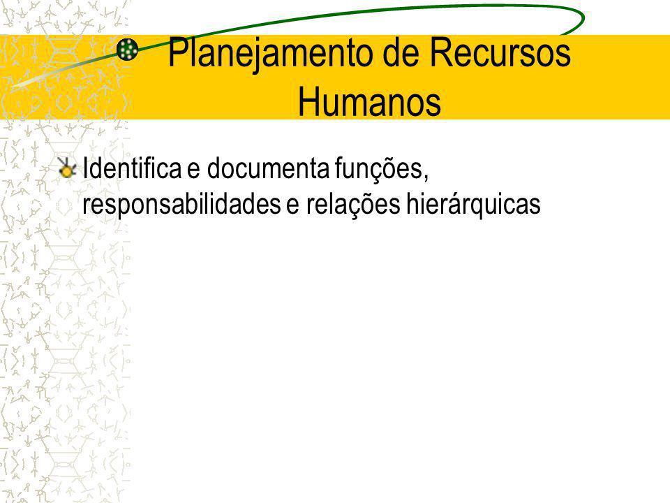 Planejamento de Recursos Humanos