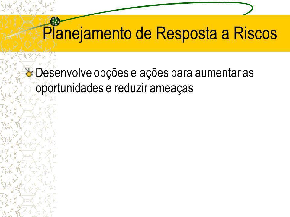 Planejamento de Resposta a Riscos