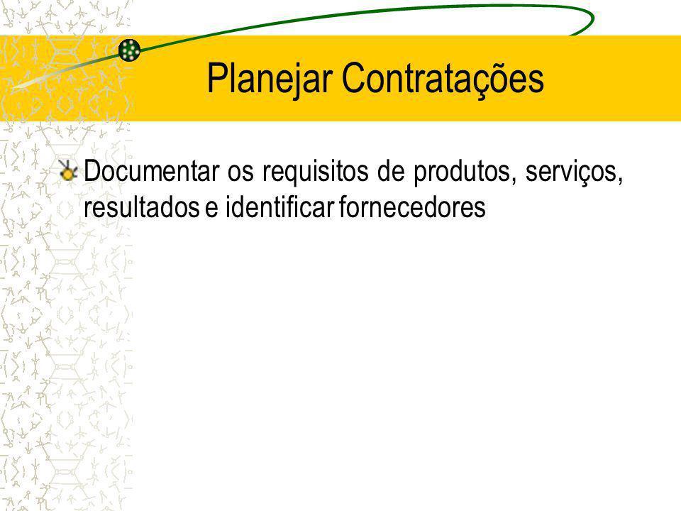 Planejar Contratações