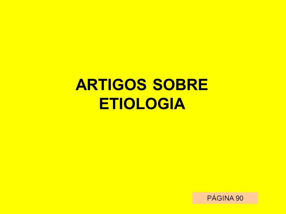 ARTIGOS SOBRE ETIOLOGIA
