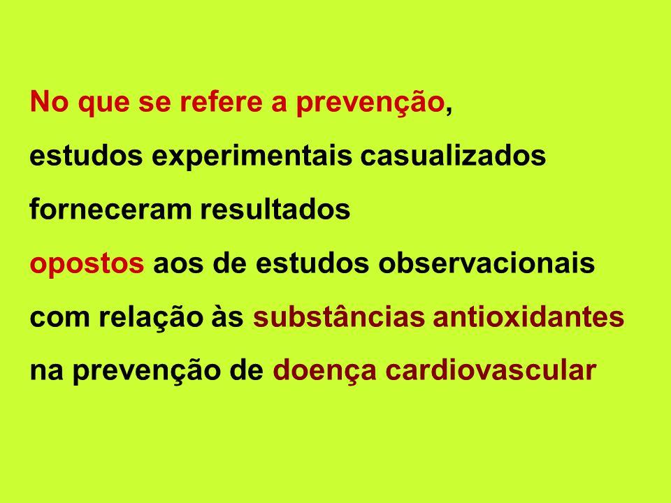 No que se refere a prevenção,
