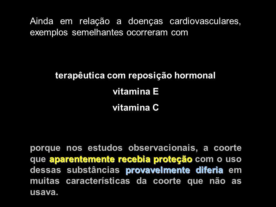 terapêutica com reposição hormonal