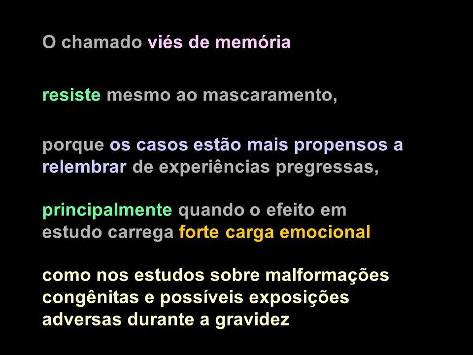 O chamado viés de memória
