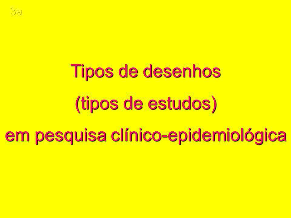 em pesquisa clínico-epidemiológica