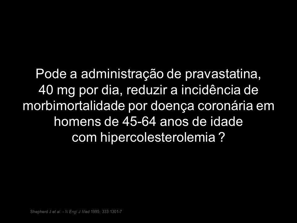 Pode a administração de pravastatina,