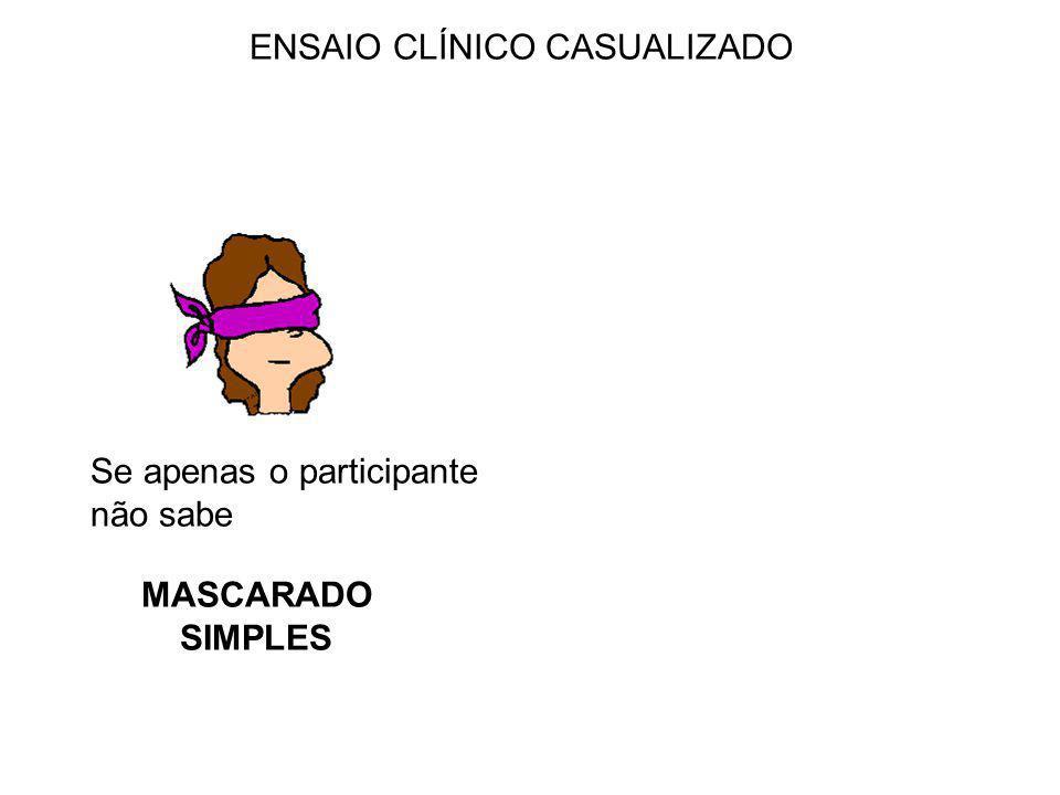 ENSAIO CLÍNICO CASUALIZADO